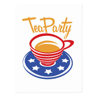 Tea Party Post Cards