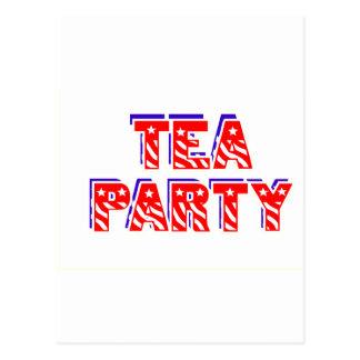 Tea Party Postcard