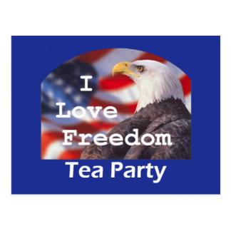 TEA PARTY Postcard