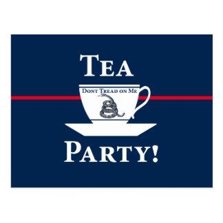 Tea Party! Post Cards