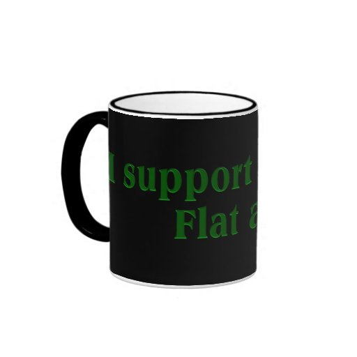 Tea Party Preferred Tax Rate: Flat at $0 Ringer Coffee Mug