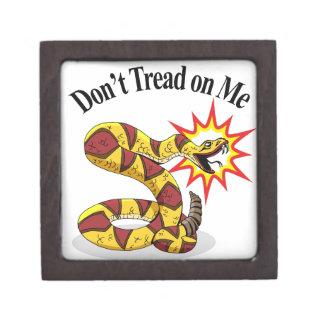 Tea Party Rattlesnake Jewelry Box