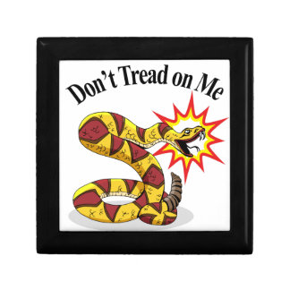 Tea Party Rattlesnake Keepsake Box