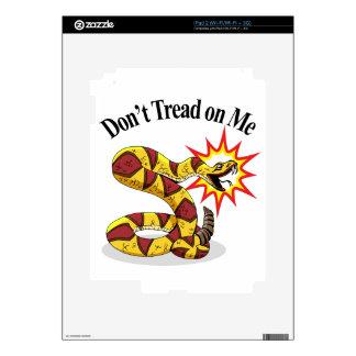 Tea Party Rattlesnake iPad 2 Decals