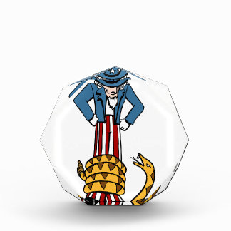Tea Party Rattlesnake Uncle Sam Awards