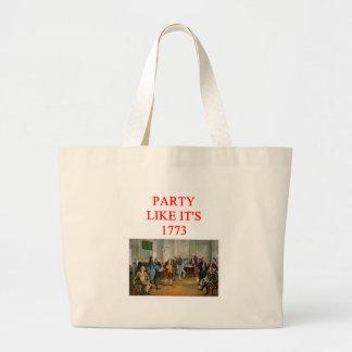 tea party republican canvas bags