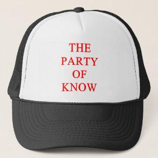 tea party republican trucker hat