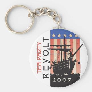 Tea Party Revolt 2009 Keychain