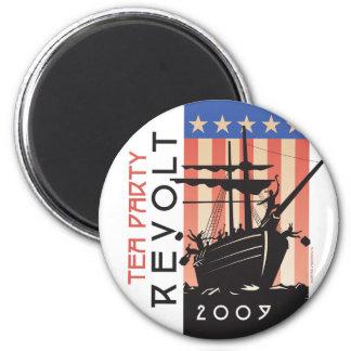 Tea Party Revolt 2009 2 Inch Round Magnet