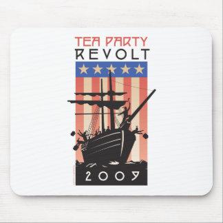 Tea Party Revolt 2009 Mouse Pad
