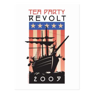 Tea Party Revolt 2009 Postcard