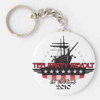 Tea Party Revolt 2010 Keychain