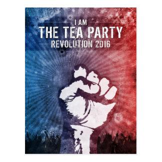 Tea Party Revolution 2016 Postcard
