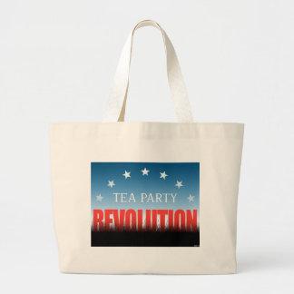 Tea Party Revolution Canvas Bag