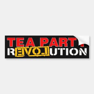 Tea Party Revolution Bumper Sticker