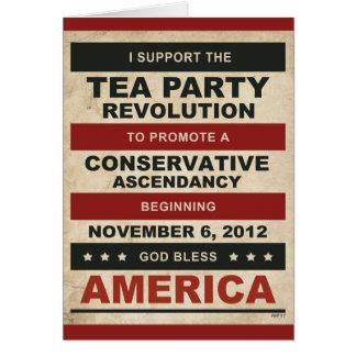 Tea Party Revolution Cards