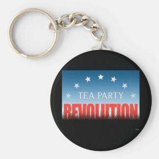 Tea Party Revolution Keychain