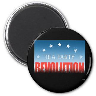 Tea Party Revolution Magnet
