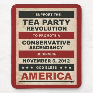 Tea Party Revolution Mouse Pad