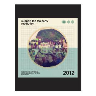 Tea Party Revolution Post Card