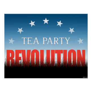 Tea Party Revolution Poster