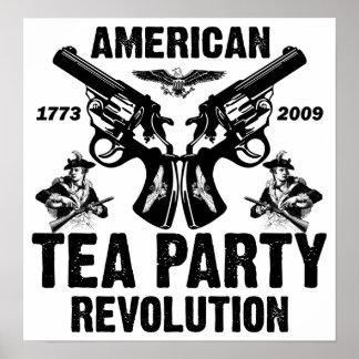 Tea Party Revolution Print