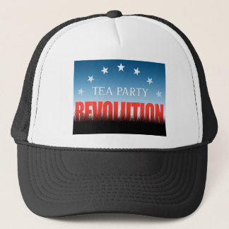 Tea Party Revolution Trucker Hat