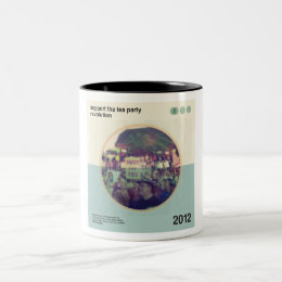 Tea Party Revolution Two-Tone Coffee Mug