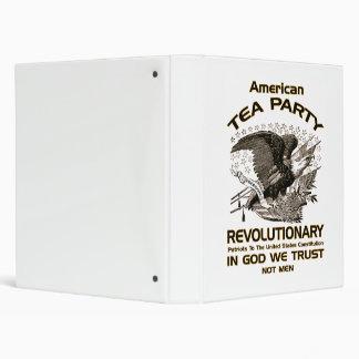 Tea Party Revolutionary 3 Ring Binder