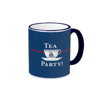 Tea Party! Ringer Coffee Mug