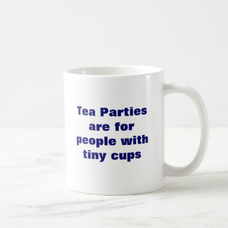 tea party satirical cup