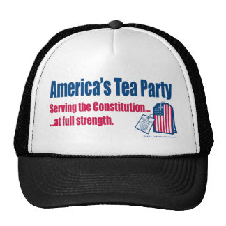 Tea Party Serving the Constitution Trucker Hat