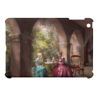 Tea Party - Sharing tea with Grandma 1936 iPad Mini Case