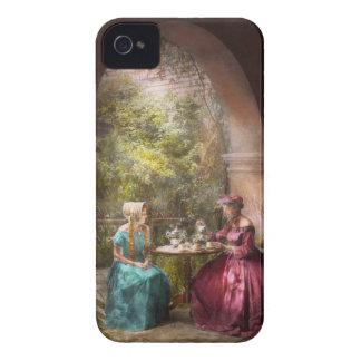Tea Party - Sharing tea with Grandma 1936 iPhone 4 Case