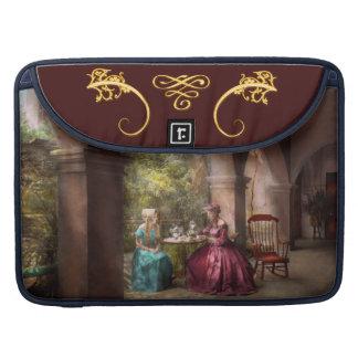Tea Party - Sharing tea with Grandma 1936 Sleeve For MacBook Pro