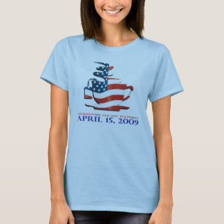 Tea Party Shirt - Flag Cup - Womens