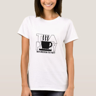Tea Party Silhouette T-Shirt