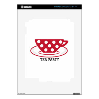 Tea Party Skins For iPad 3