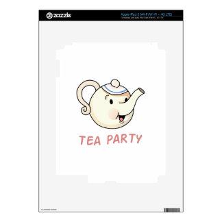 TEA PARTY iPad 3 SKIN