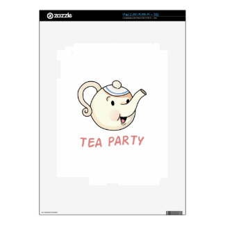 TEA PARTY SKINS FOR iPad 2