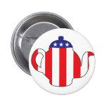 Tea Party symbol Button