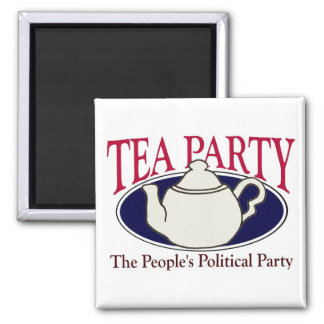 Tea Party Tax Day magnet