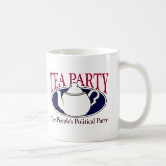 Tea Party Tax Day mug mug