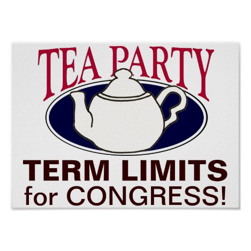 Tea Party Tax Day protest poster