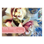 Tea Party Tea Cup Baby Shower Invitations