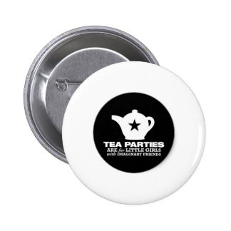 tea_party_tea_parties_are_for_little_girls_sticker 2 inch round button