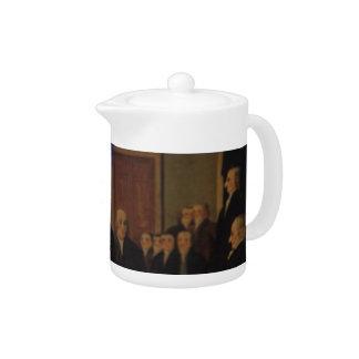 Tea Party Tea Pot