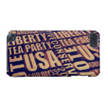 Tea Party Text iPod Touch 5G Cover