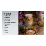 Tea Party - The magic of a tea party Double-Sided Standard Business Cards (Pack Of 100)