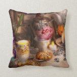 Tea Party - The magic of a tea party Pillows